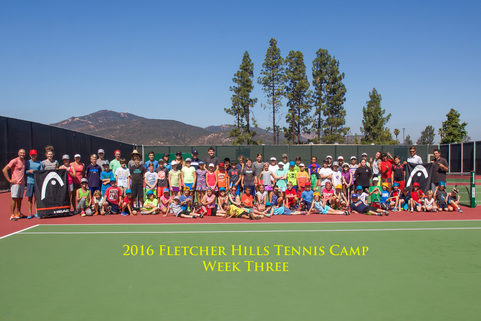 Sign Up For Tennis Camp Today!
