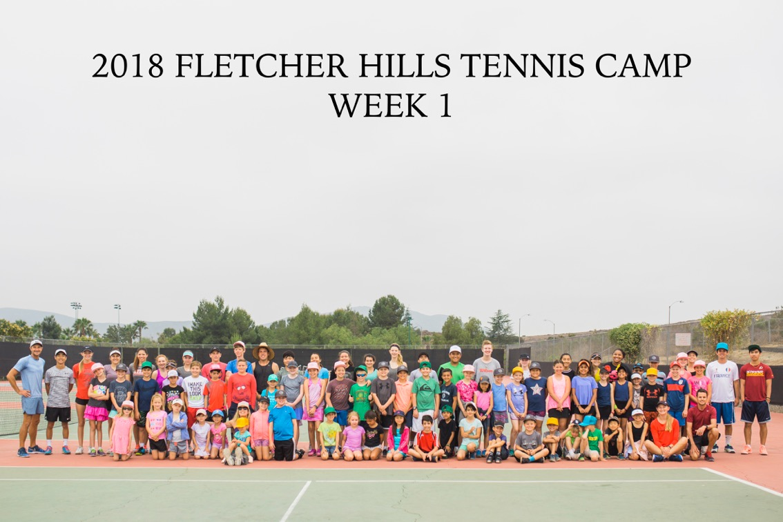 Tennis Camp Registration is Now Open!