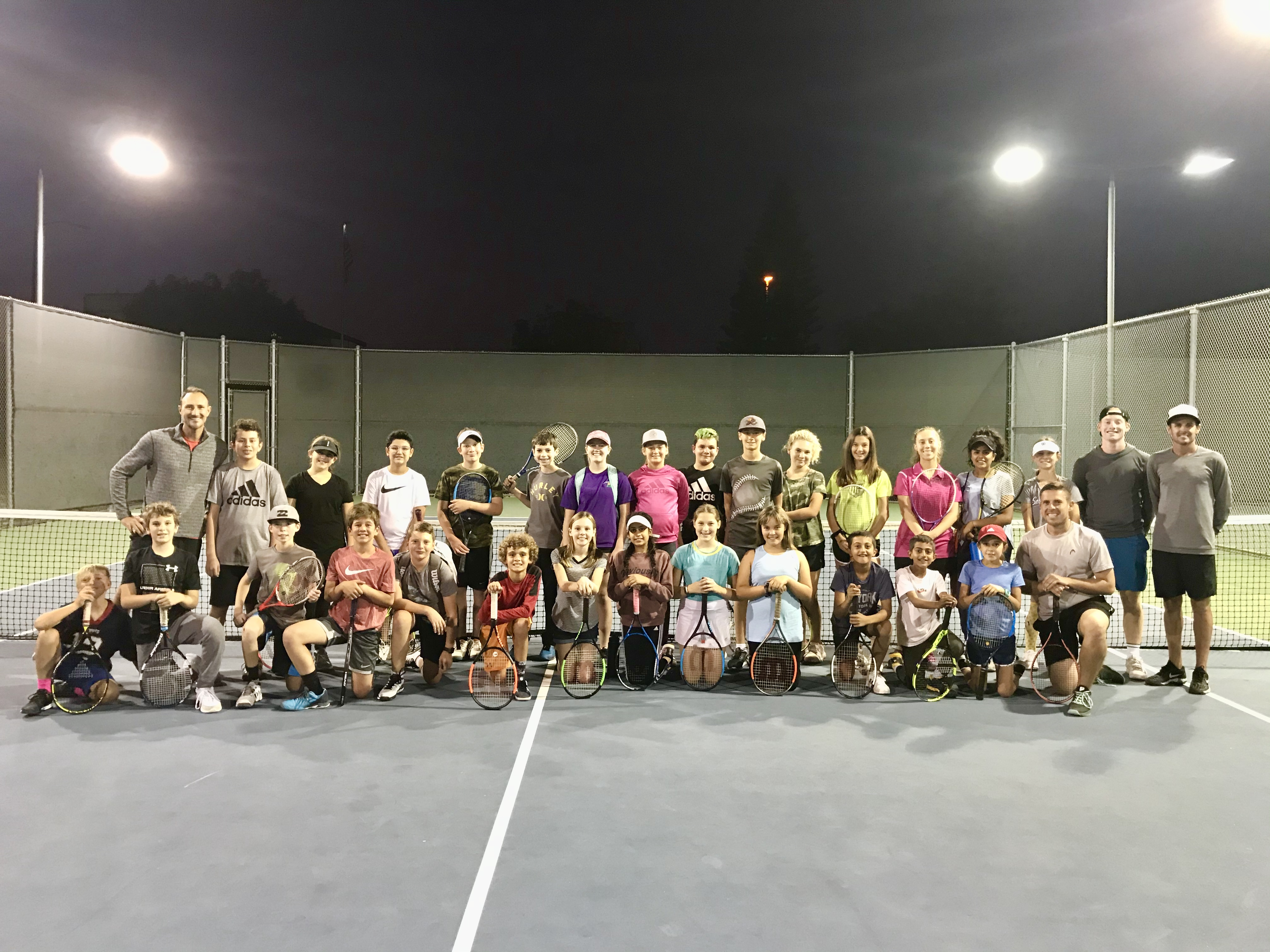 Spring Tennis Clinic Update